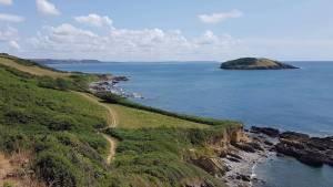 Looe Island & Coastal path